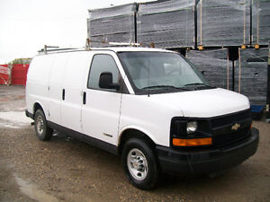 READY TO WORK 2004 CHEVY EXPRESS 2500 CARGO VAN $2500!!
