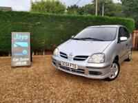NISSAN ALMERA TINO 1.8 SE AUTOMATIC (((( ONLY 46619 MILES ))) CHEAP CAR