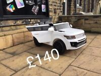 Range Rover Style White Or Red Leather Seat
