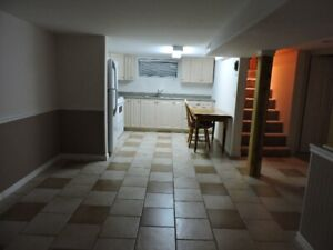 2 Bedroom Basement Apartment -ATTENTION STUDENTS