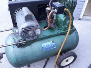 220 v air compressor and spare tank