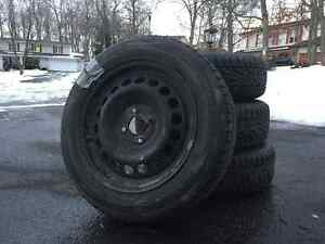 Winter Tire Package for a Honda Fit Kingston Kingston Area image 1