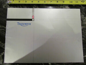 TRIUMPH 2003 TOURING MOTORCYCLE BROCHURE CATALOG