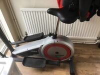 York Aspire crosstrainer/bike HR monitor