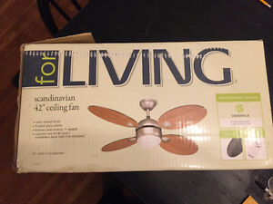 Ceiling fan for sale - never used!