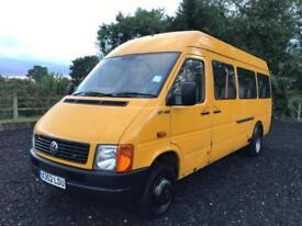 Volkswagen LT 46 LWB TDI not Crafter, ex Council Bus -Ideal camper project.
