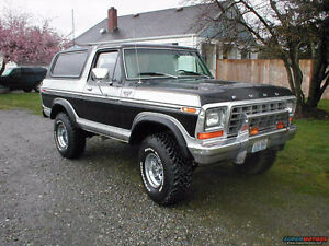 WANTED: 1978 or 1979 Ford Bronco