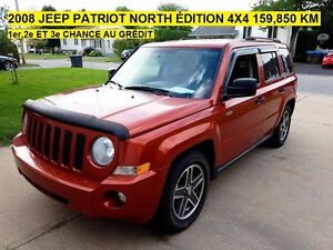 JEEP PATRIOT 2008 MANUEL 4X4 NORTH ÉDITION