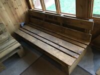 Rustic Wooden Pallet Furniture Sofa Seating Chair