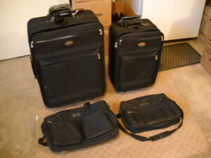 Four Pieces of Luggage