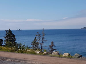 Beautiful ocean view appoved clear title land in Whiteway