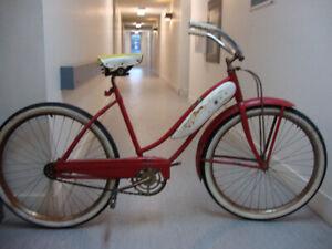Vintage 1953 J.C. Higgins Cruiser Bicycle
