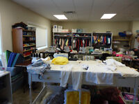 Donations of new clothing for sewing for kids