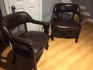 Two Chairs - very solid.