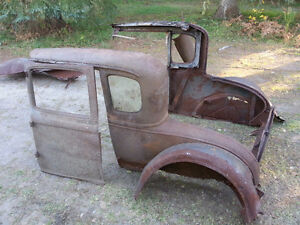 30-31 Ford Model A coupe project
