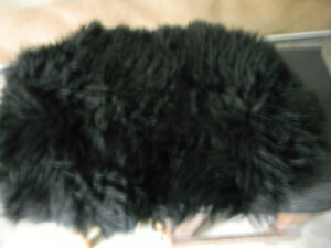 Sheep skin seat cover