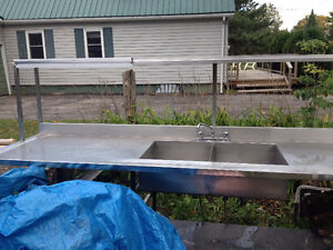 stainless steel sink and counter Kawartha Lakes Peterborough Area image 2