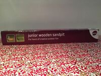 Plum junior wooden sandpit/ballpit