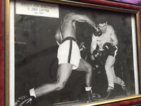 Two Boxing pictures. 1951 & 1960