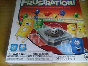 Frustration  game  1 set ages 5 plus.