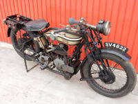 NORTON 1924 FLAT TANKER 490cc 1927 SPECIFICATION BETTER BRAKES