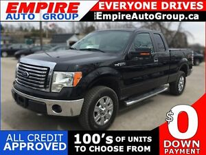 2011 FORD F-150 SUPER CAB * 4WD * ELECTRIC SPEED-PROPORTIONAL PO
