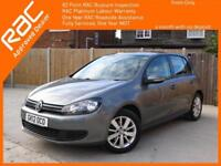 2012 Volkswagen Golf 1.4 TSI Match 5 Door Auto Bluetooth DAB Parking Sensors Air