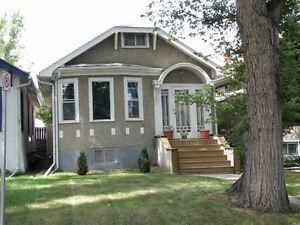 Small house for rent one block from Regina General Hospital