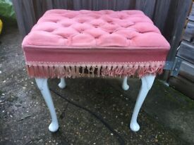 Dressing table stool and storage ottoman