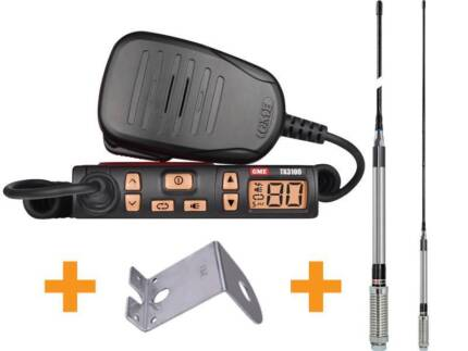 Brand New GME TX3100VP UHF Two Way CB Radio Starter Kit