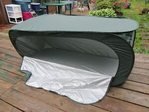 PORTABLE TOILET SHELTER - PRIVACY TENT