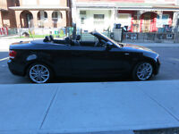 2012 Black BMW 128i Convertible with  M Package/suspension!