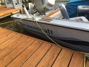 Princecraft 176 superpro 90 hp honda