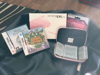 Pink DS lite boxed, and games!