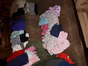 6 to 12 month girls fall winter lot