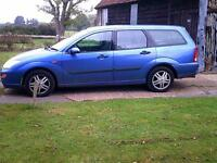 1999/V Ford Focus 1.8i 16v Zetec Estate