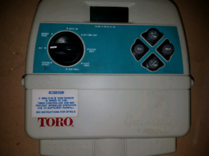 Toro 8 zone Irrigation timer