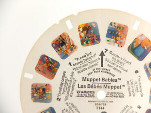 Muppet Babies, Viewmaster Reels, Set of 3. Condition is Good.
