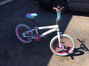 "Girls size 18"" bike for sale"
