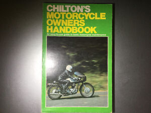 1979 Chilton's Motorcycle Owners Maintenance Handbook