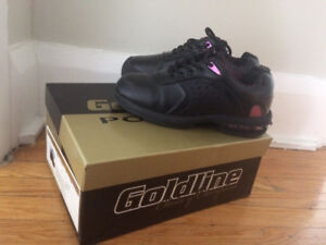 Goldline Women's Silver 2.0 Curling Shoes size 7 Left OBO