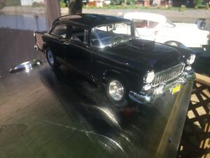 Chevrolet bel air 1955 auto film diecast 1/18 die cast