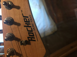 Rocker electric guitar