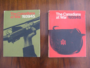 2 Volume 1969 Set: The Canadians at War 1939/45 from MC Museum!