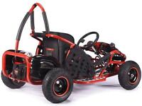 STOMP MAD MAX off-road buggy Go-kart electric 48v quad pit bike black BMX