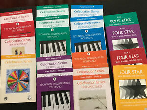 Royal Conservatiry oddments music Piano lesson books Repertoire
