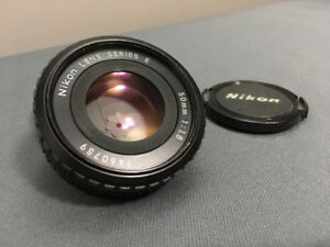 Nikon 50mm f/1.8 E series Lens (Pancake lens - Fully Manual)