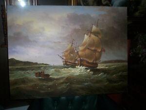 Tableau Peinture Canvas Toile Plusieurs Choix