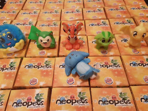 Neopets Collectable Boxed Figures from Buger King