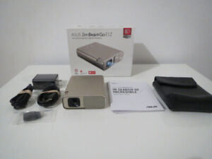 New ASUS ZenBeam E1Z Android Windows Micro USB Pico Projector